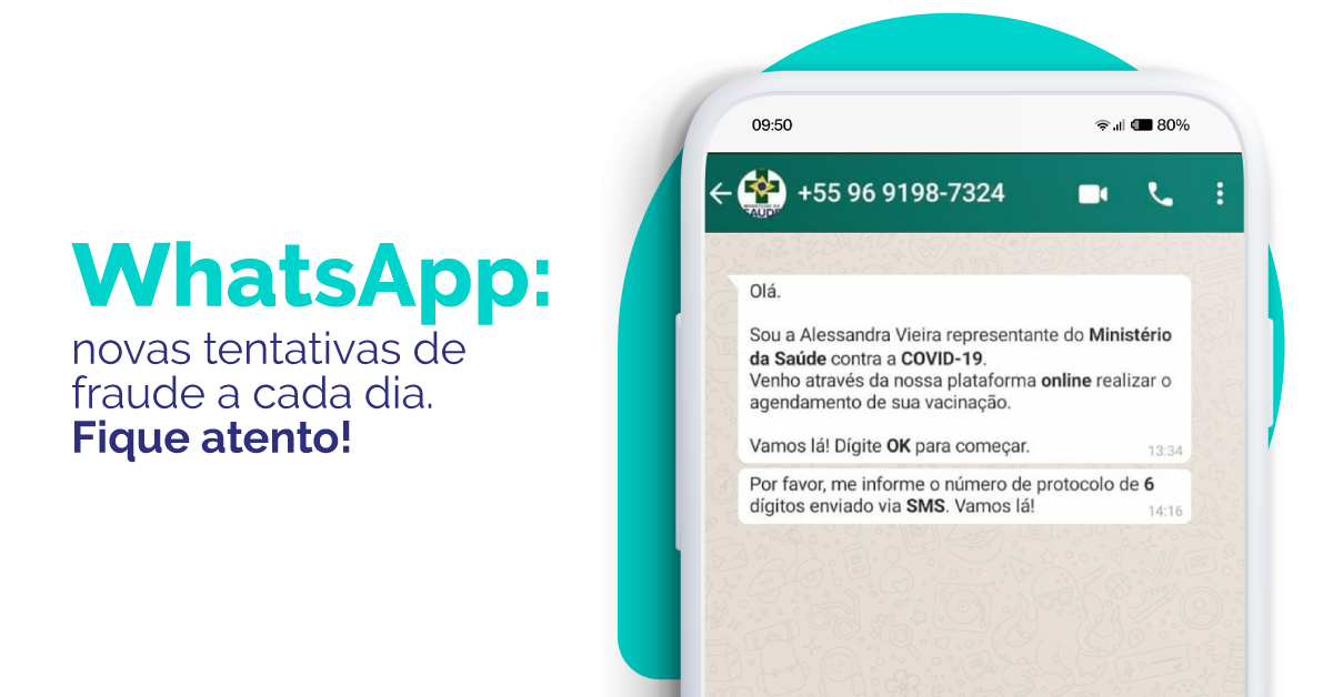 Golpes para clonagem de WhatsApp: novas tentativas de fraude a cada dia