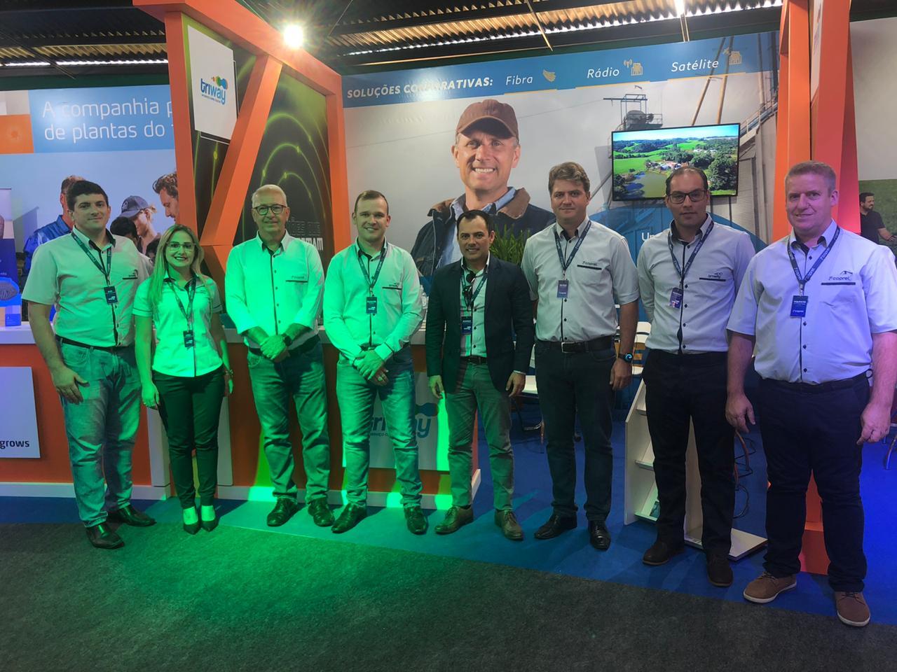 Coprel Telecom, a internet da Arena Agrodigital na Expodireto