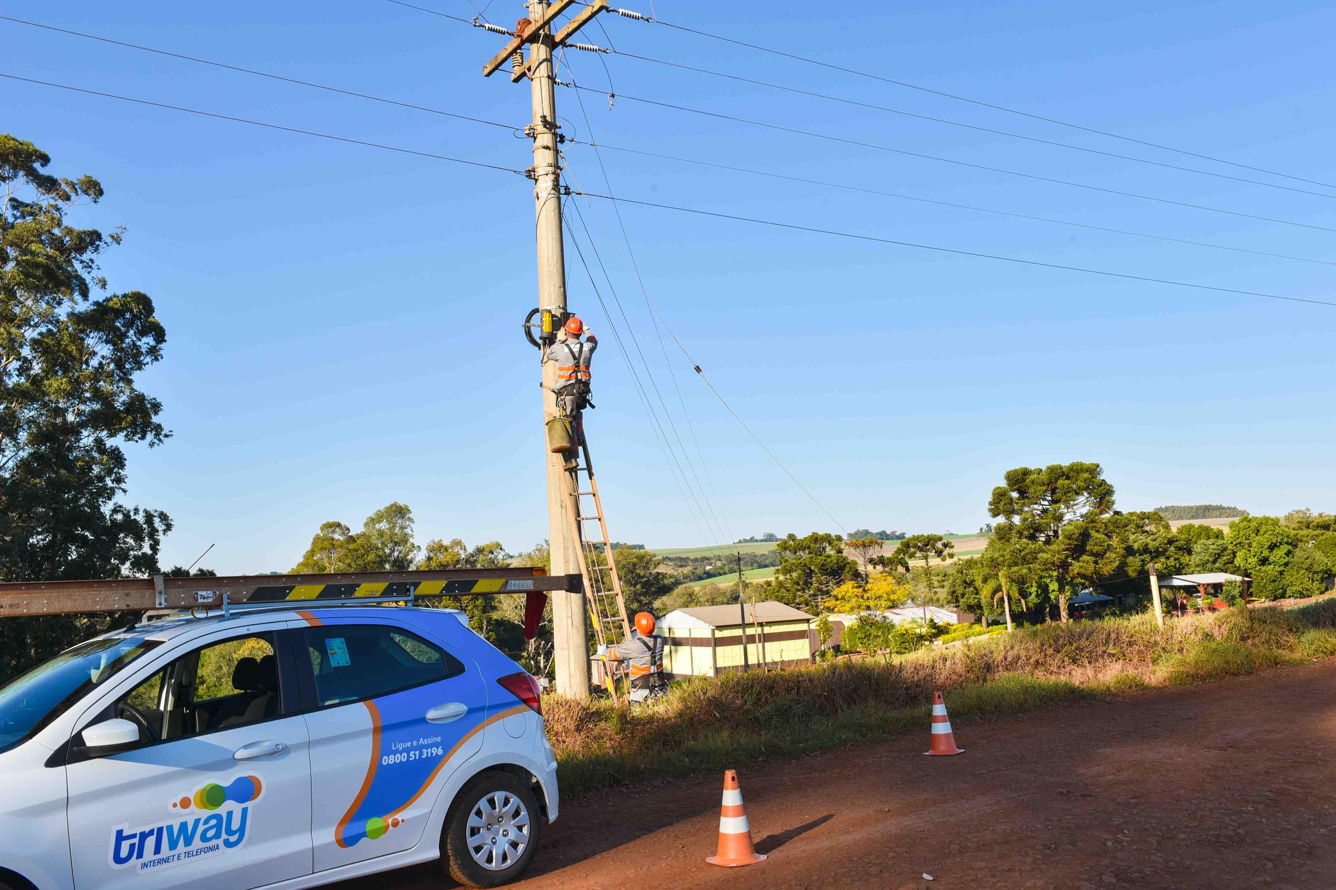 Coprel Telecom está investindo na expansão de redes de fibra ótica