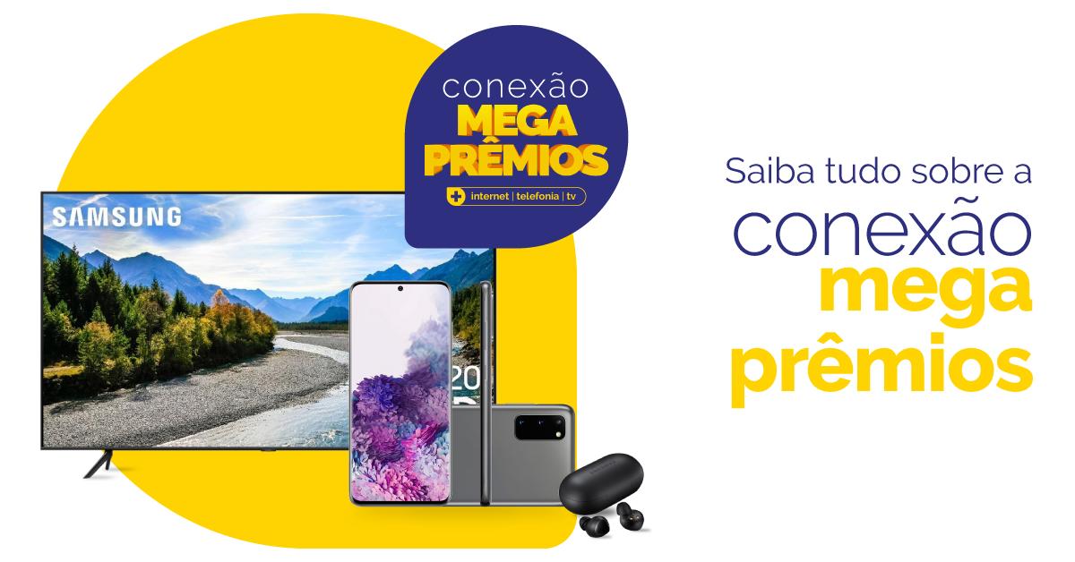 Conexão Mega Prêmios Coprel Telecom: concorre quem assina e também quem já é cliente